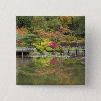 WA, Seattle, Washington Park Arboretum, 3 Pinback Button