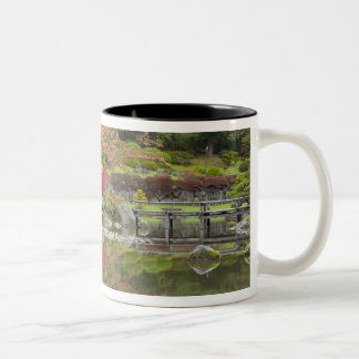 WA, Seattle, Washington Park Arboretum, 3 Two-Tone Coffee Mug