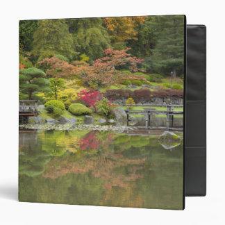 WA, Seattle, Washington Park Arboretum, 3 Vinyl Binder
