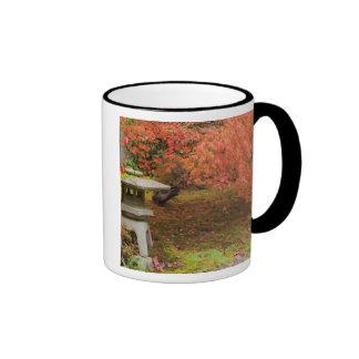 WA, Seattle, Washington Park Arboretum, Japanese 2 Coffee Mugs