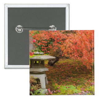 WA, Seattle, Washington Park Arboretum, Japanese 2 Pinback Button