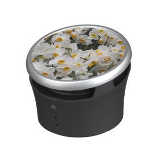 WA, Skagit Valley, Daffodil pattern Bluetooth Speaker