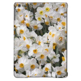 WA, Skagit Valley, Daffodil pattern Cover For iPad Air