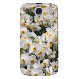 WA, Skagit Valley, Daffodil pattern Galaxy S4 Case