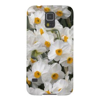 WA, Skagit Valley, Daffodil pattern Galaxy S5 Case