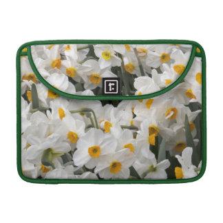 WA, Skagit Valley, Daffodil pattern MacBook Pro Sleeve