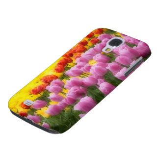 WA, Skagit Valley, Roozengaarde Tulip Garden, 2 Galaxy S4 Cover