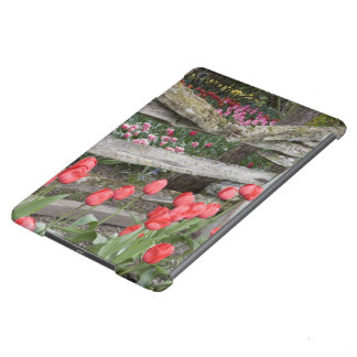 WA, Skagit Valley, Roozengaarde Tulip Garden, Cover For iPad Air