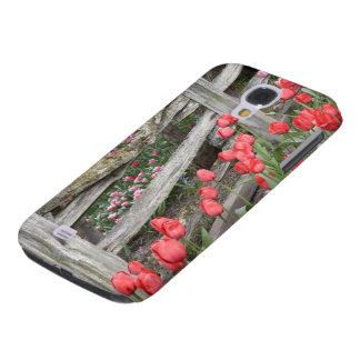 WA, Skagit Valley, Roozengaarde Tulip Garden, Galaxy S4 Cover