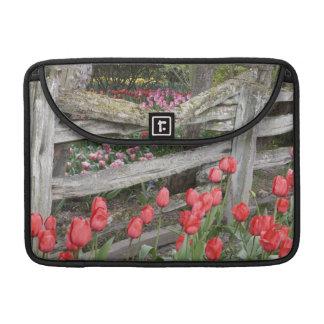 WA, Skagit Valley, Roozengaarde Tulip Garden, MacBook Pro Sleeves