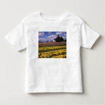 WA, Skagit Valley, Skagit Valley Tulip Toddler T-shirt
