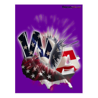 WA state Postcard