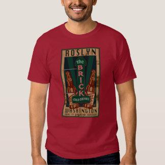 WA-T-camisa de Roslyn Playeras