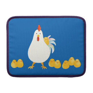< wa taking and chick (water color) > A chicken MacBook Sleeve