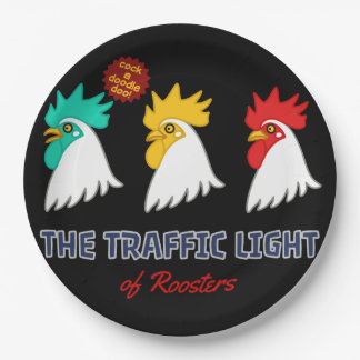 < wa taking signal (for hyperchromic >The traffic Paper Plate