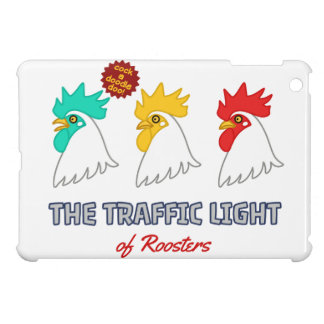 < wa taking signal > The traffic light of roosters iPad Mini Cover
