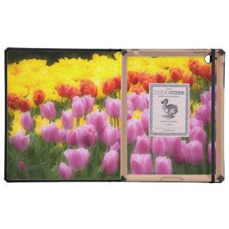 WA, valle de Skagit, jardín del tulipán de Roozeng iPad Protector