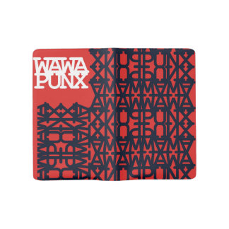 Wa Wa Punx Red Letter Notebook