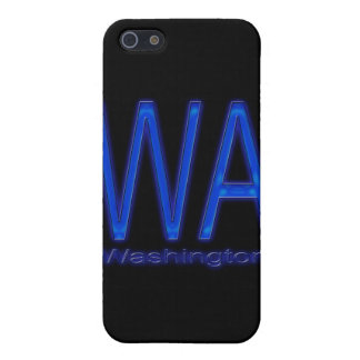 WA Washington blue iPhone SE/5/5s Cover