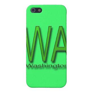 WA Washington green iPhone SE/5/5s Cover