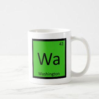 Wa - Washington State Chemistry Periodic Table Classic White Coffee Mug
