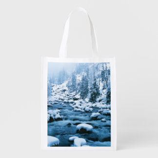 WA, Wenatchee National Forest, Cascade Reusable Grocery Bag