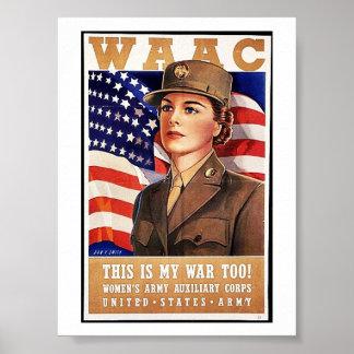 Waac Posters