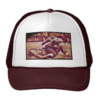 WAAF Demonstrates Self-Defense WWII Mesh Hat