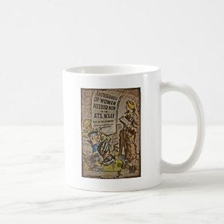 WAAF Recruitment Classic White Coffee Mug