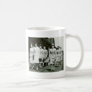 WAAF Recruits Marching 1942 Coffee Mug