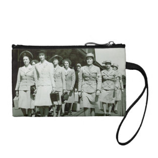 WAAF Recruits Marching 1942 Coin Wallet