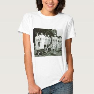 WAAF Recruits Marching 1942 Shirt