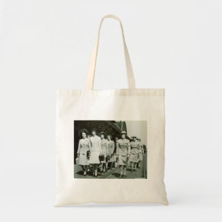 WAAF Recruits Marching 1942 Tote Bag