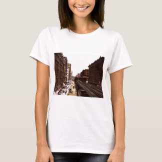 Wabash Ave North Adams Street Chicago Illinois T-Shirt