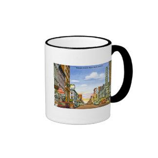 Wabash Ave., Terre Haute, Indiana Ringer Coffee Mug