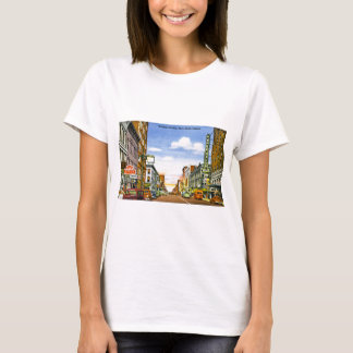 Wabash Ave., Terre Haute, Indiana T-Shirt