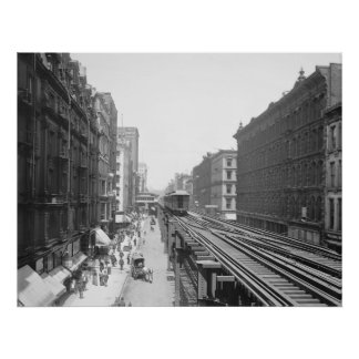 Wabash Avenue: 1900 Poster