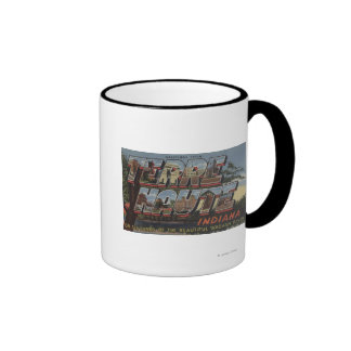 Wabash River - Large Letter Scenes Mug