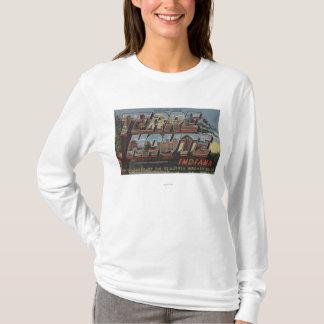 Wabash River - Large Letter Scenes T-Shirt