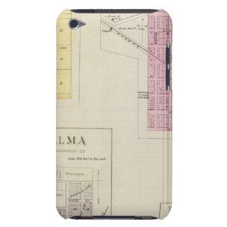 Wabaunsee, Newbury, Alma, Bismark, Kansas iPod Case-Mate Case