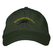 Wabbaseeka Mosquito Embroidered Baseball Hat