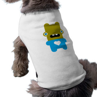 Wabbit raro camiseta de perro
