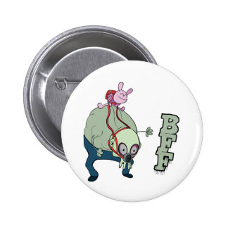 wabby riding gnarl bff monsters button