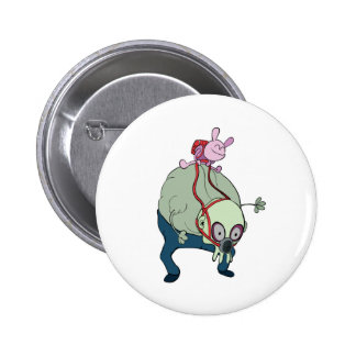 wabby riding gnarl monsters pin