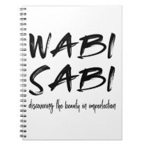 Wabi sabi notebook