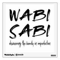 Wabi sabi wall decal