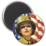 WAC recruiting Poster 2 Inch Round Magnet