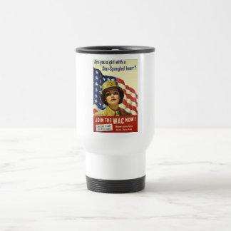 WAC recruiting Poster Coffee Mugs