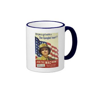 WAC recruiting Poster Coffee Mug