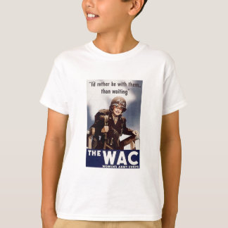 WAC Recruiting Poster T-Shirt